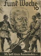 Funk-Woche - Nr. 33 August 1934 - 32 Seiten Mit Vielen Abbildungen - Werbung - Film & TV