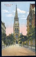 Cpa De Pologne Kattowitz , O.-S.  Marienkirche    NCL81 - Polen