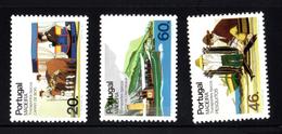 N° 105-107-108 ** - 1985 - Madeira