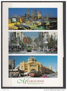 Australia - Victoria - Melbourne : The City Of Night - Swanston Street - Flinders Street Station - Melbourne
