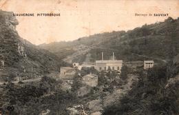 L'AUVERGNE PITTORESQUE - BARRAGE DE SAUVIAT-63- - Autres Communes
