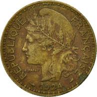 Cameroun, 2 Francs, 1924, Paris, TTB, Aluminum-Bronze, KM:3 - Cameroun
