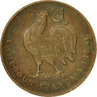 Cameroun, Franc, 1943, Pretoria, TTB+, Bronze, KM:7 - Cameroon