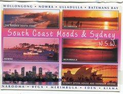 - NSW - South Coast Moods - Sydney - NOWRA, Multi Vues, Grand Format, Non écrite, Pub Au Verso, TBE, Scans. - Australie
