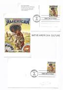 USA LEGENDES DU FAR WEST - CULTURE INDIENNE - American Indians