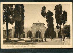 CPA - JERUSALEM - The Mosque El Aksa - Israel