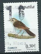 ESPAGNE SPANIEN SPAGNA SPAIN ESPAÑA  2007 BIRDS: MOCKINGBIRD RUISEÑOR ED 4305 YV 3941 MI 4237 SG 4270 SC 3511 - 1931-Today: 2nd Rep - ... Juan Carlos I
