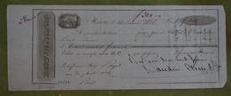 Mandat  à En-tête - BAUDIN-ETESSE Au Havre - 1826 - 300 Francs - France