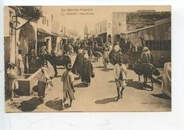 Maroc : Rabat Rue Souika N°13 (cp Vierge) - Rabat