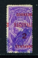 GUATEMALA  -  1898  Opt. Fiscal Stamps  Surcharges  2c On 5c  Used As Scan - Guatemala