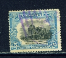 GUATEMALA  -  1902  UPU Pictorials  5c  Used As Scan - Guatemala