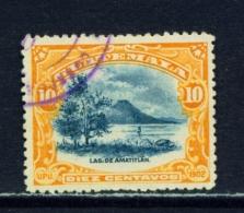 GUATEMALA  -  1902  UPU Pictorials  10c  Used As Scan - Guatemala