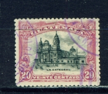 GUATEMALA  -  1902  UPU Pictorials  20c  Used As Scan - Guatemala