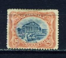 GUATEMALA  -  1902  UPU Pictorials  50c  Used As Scan - Guatemala