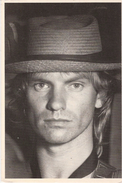 Carte Postale D´artiste / Movie Star Postcard - Sting - The Police (#3424) - Music And Musicians