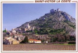 D 30 - SAINT-VICTOR DE LA COSTE - Vue Générale - Francia