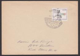 Cottbus 40 + 20 Pf. Olympische Spiele Tokio 1964 Mit Werbest. Postzeitungsvertrieb , Doppelbrief - Non Classés
