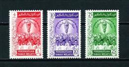 Federación De Malasia  Nº Yvert  91/3  En Nuevo - Federation Of Malaya