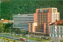 D1004 Romania Brasov Hotel Carpati - Roemenië