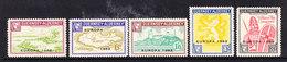 Europa Cept 1962 Guernsey - Alderney 5v (6D Value With Wrinkle) ** Mnh (35966) - 1962