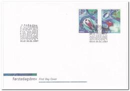 Noorwegen 1997, 20.02.1997 - FDC