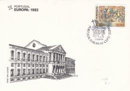 Portugal 1982 FDC Europa CEPT    (T18-16) - Europa-CEPT
