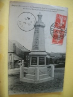 B7 6847 - SUGNY - LE MONUMENT ELEVE A LA MEMOIRE DES ENFANTS DE SUGNY, MORTS PENDANT LA GRANDE GUERRE - 1921 - Otros