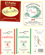 Espagne - Iles Canaries - Superbe Lot De 52 étiquettes De Vins Et Alcools - Ténérife, La Palma, Lanzarote - - Etiquetas