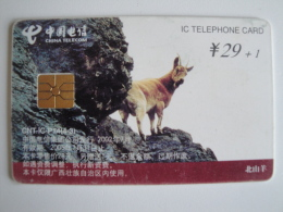 1 Chip Phonecard From China - Animals - China