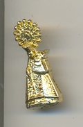 Pin Virgen. Dorado. Ref. 13-1151 - Sin Clasificación