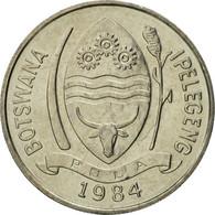 Botswana, 10 Thebe, 1984, British Royal Mint, FDC, Copper-nickel, KM:5 - Botswana