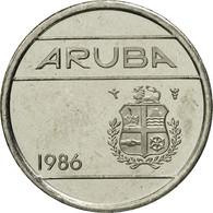 Aruba, Beatrix, 5 Cents, 1986, Utrecht, FDC, Nickel Bonded Steel, KM:1 - Antillen (Niederländische)