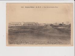 Carte Postale - POINTE NOIRE - A E F - Une Des Principales Rues - Pointe-Noire