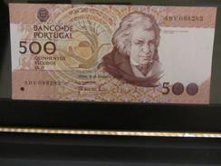 Portugal  - 500 Escudos - 1987  UNC - Portugal
