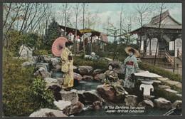 In The Gardens, Fair Japan, Japan-British Exhibition, 1910 - Valentine's Postcard - Exhibitions