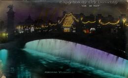 PARIS - Exposition Des Arts Décoratifs - Fontaine Vedovelli - Vue De Nuit - Expositions