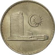 Malaysie, 20 Sen, 1982, Franklin Mint, FDC, Copper-nickel, KM:4 - Malaysie