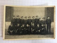 17AD/1 - Photo Groupe Milicien Force Aérienne Belge - Guerre, Militaire