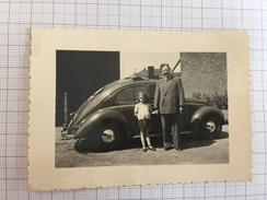 17AD/1 - Photo VW Volkswagen Coccinelle Toit Ouvrant - Automobiles