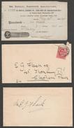 Two Bills & Receipt - Spencer & Co, Zither & Banjo Manufacturers, Clapham, 1909 - Bills Of Exchange