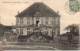 55 PIERREFITTE-sur-AIRE  La Mairie (très Animée) - Pierrefitte Sur Aire