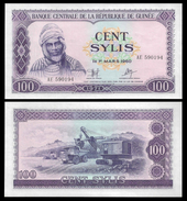 Guinea 100 SYLIS 1971 P 19 UNC OFFER ! - Guinea