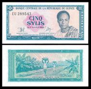 Guinea 5 SYLIS 1980 P 22 UNC - Guinea