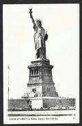 NEW YORK Statue Of Liberty On Bedloes Island USA - Statue De La Liberté