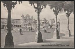 Court Of Honour, Franco-British Exhibition, London, 1908 - Valentine's Postcard - Exhibitions