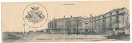 ARCACHON - Carte Double - Le Grand Hôtel Richelieu - 2 Scans - Arcachon
