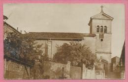 57 - BADENHOFEN - BACOURT - Carte Photo Allemande - Eglise - Guerre 14/18 - France