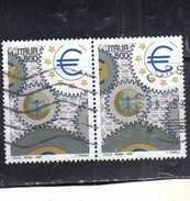 ITALIA REPUBBLICA ITALY REPUBLIC 1998 ESPOSIZIONE DI FILATELIA 98 GIORNATA DELL´EUROPA DAY LIRE 800 USATO USED OBLITERE´ - 6. 1946-.. Repubblica