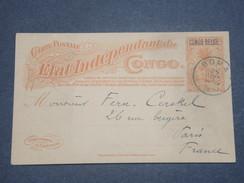 CONGO BELGE - Entier Postal De Boma Pour La France En 1910 - L 8245 - Stamped Stationery