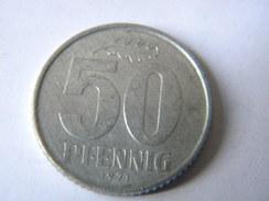 ALLEMAGNE - R.D.A. 50 PFENNIG 1971.A. - [ 6] 1949-1990 : GDR - German Dem. Rep.